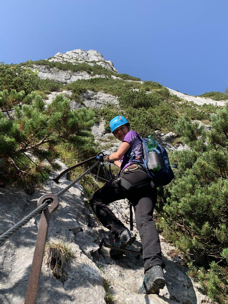 No to zaczynamy przygodę z Via Ferrata la Zugspitze
