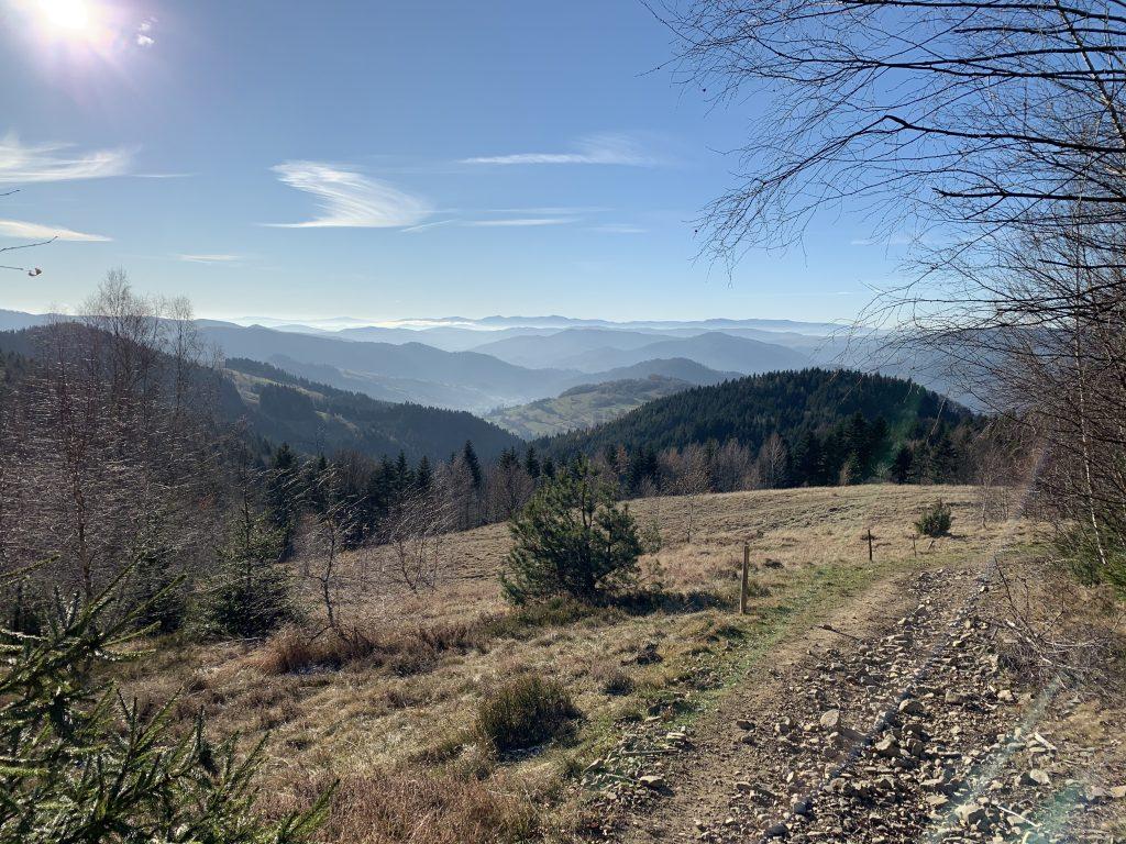Cyrla - W stronę Słowacji
