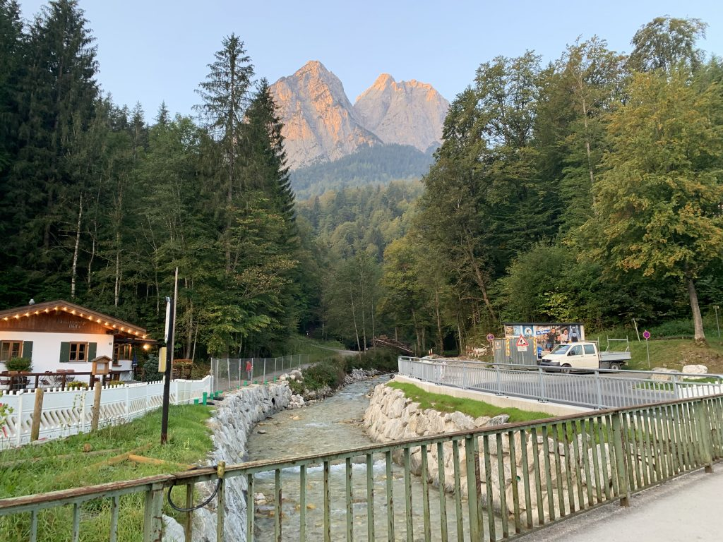 Piękne tu mają wschody pod Zugspitze!