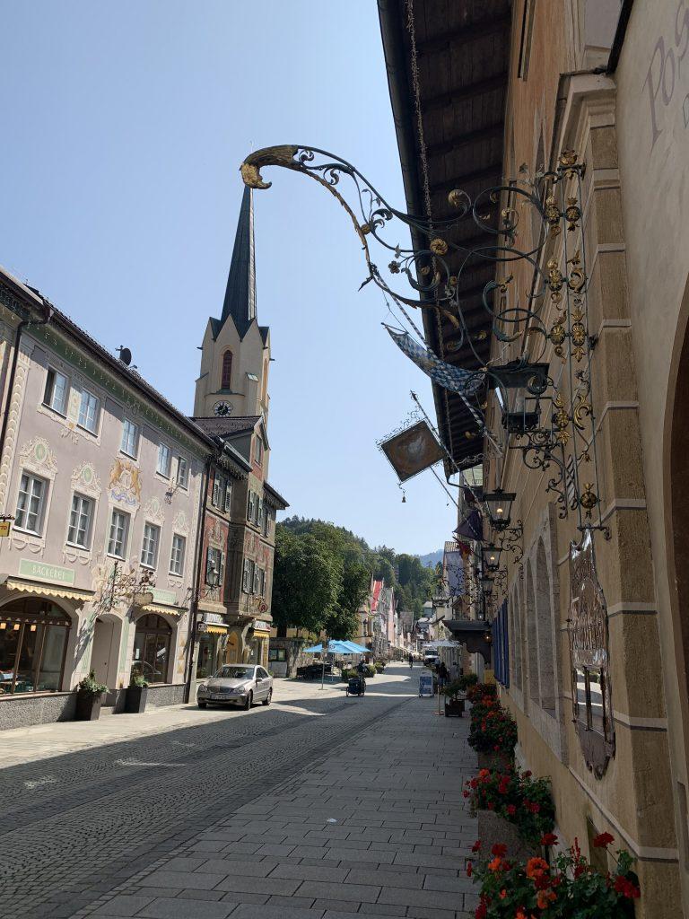Garmisch-Partenkirchen - Za chwilę wypadałoby się zgubić :)