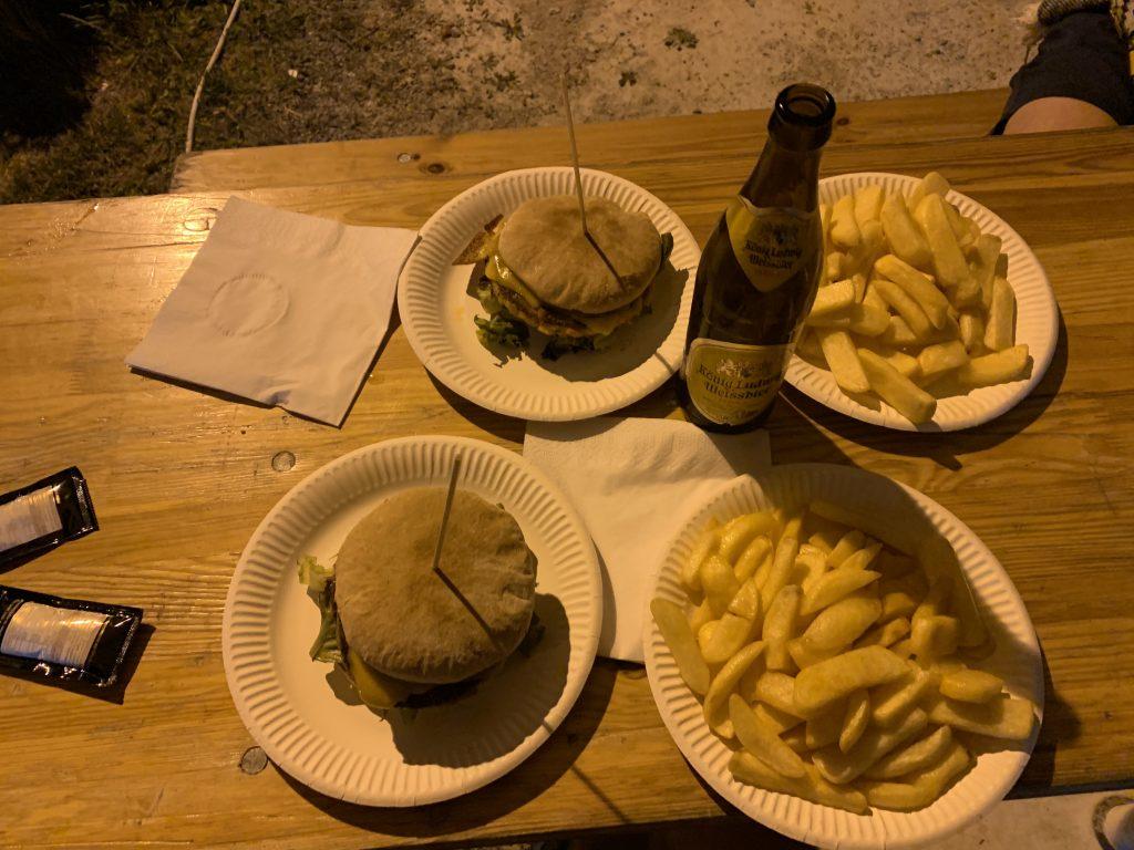 Garmisch-Partenkirchen - To jest kolacja i wynagrodzenie za cierpienia :)