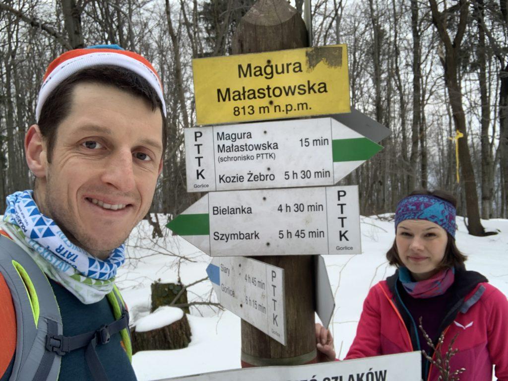 Magura Małastowska - Najwyższy szczyt zdobyty!