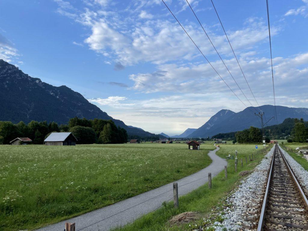 Alpspitze - Z Hammersbach do Grainau