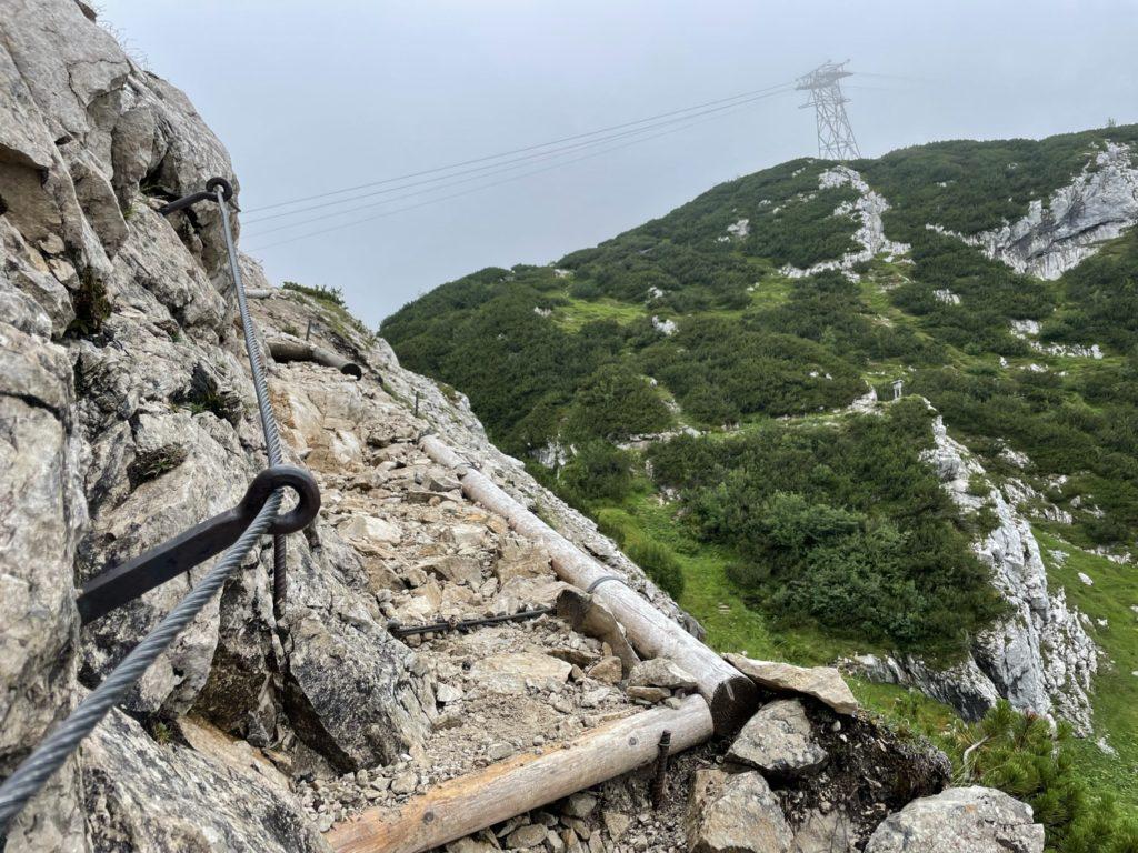 Alpspitze - Pierwsze podmuchy ferraty
