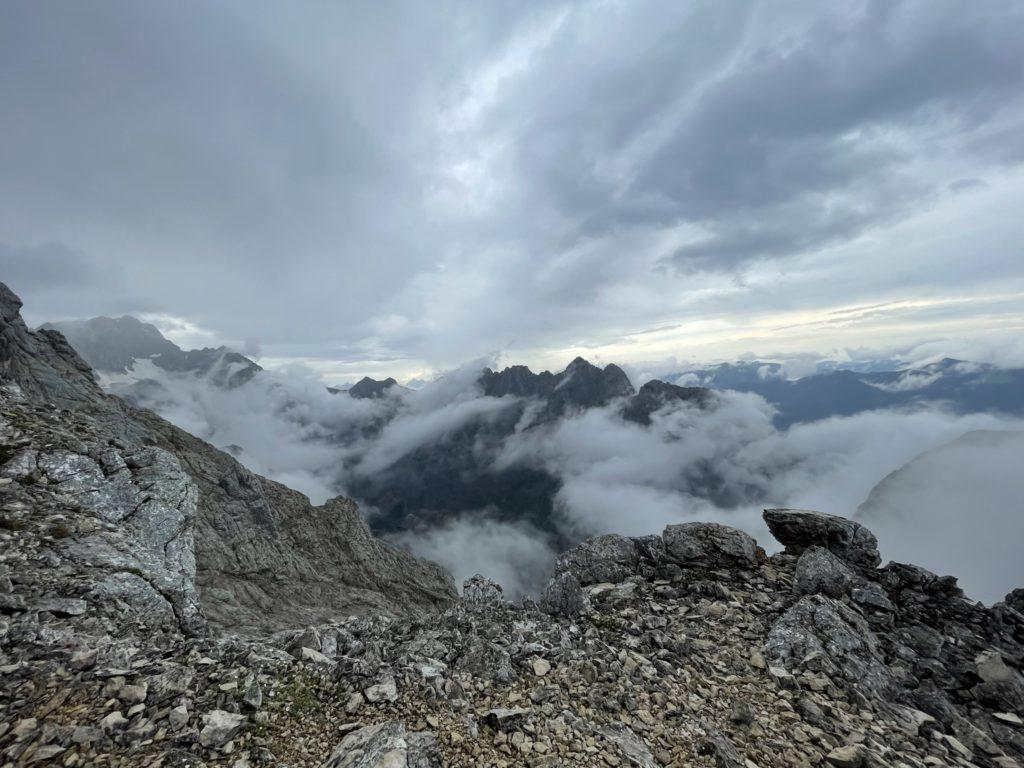 Alpspitze - Widok na Waxenstein