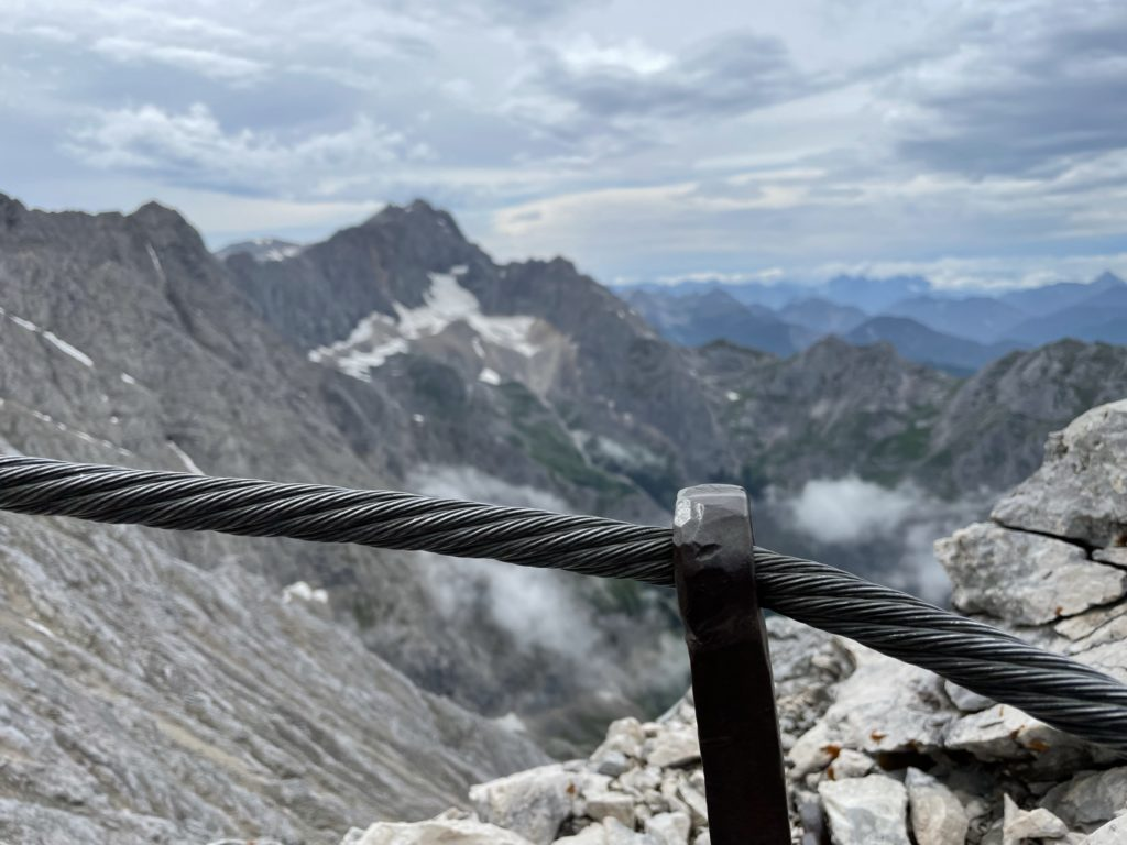 Alpspitze - widok na Jubilatkę