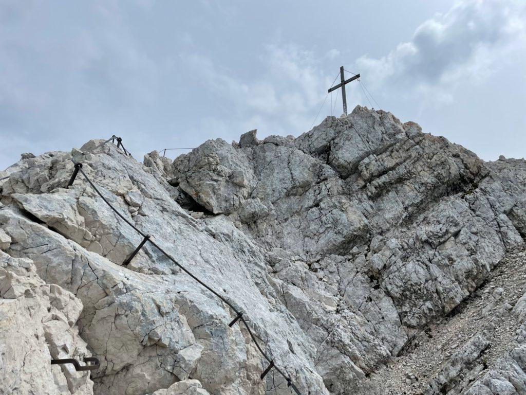 Alpspitze - Szczyt tuż, tuż...