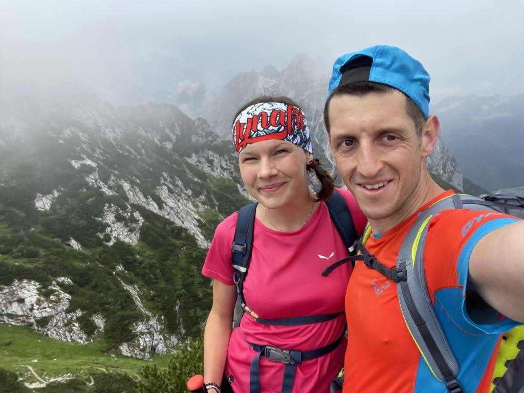 Alpspitze - Chmury znów, ale i tak ładne widoki :)