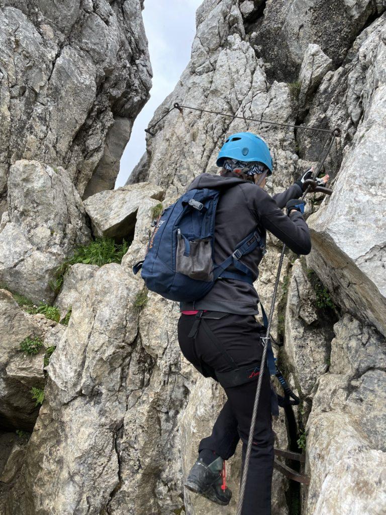 Alpspitze - Pracują nogi i ręce