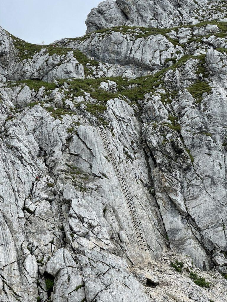 Alpspitze - Z bliska nie jest tak straszne....