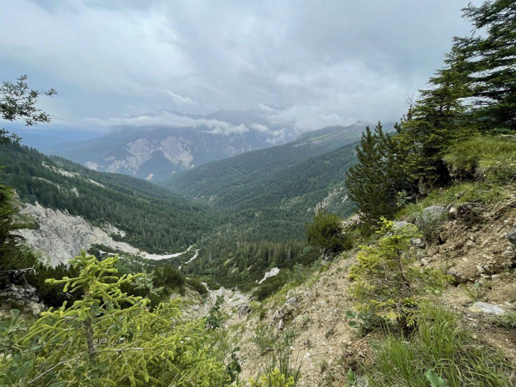 Alpspitze - Toż warto dla tych widoków tu iść!